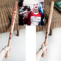Suicide Squad Harley Quinn Cosplay Props Baseball Bat Wood
