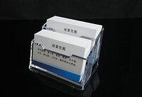 الاكريليك عرض موقف حامل بطاقة الأعمال المكتبية البلاستيكية مكتب رف مربع طبقتين شفافة تخزين مربع