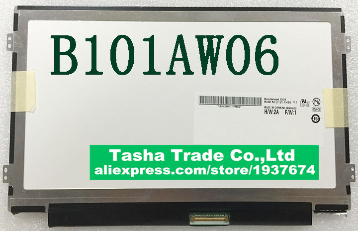 B101AW06 V.1 LCD Display LED Display Laptop Screen AU Optronics B101AW06 V1 free shipping ba101ws1 100 ba101ws1 b101aw06 v 1 n101l6 l0d ltn101nt08 10 1inch led display laptop screen