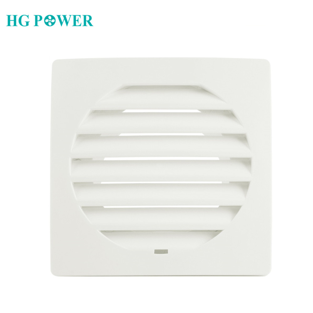 ABS Air Vent Extract Valve Grille Square Diffuser Ducting Ventilation Cover Air Vent Ventilator Louver Cover For Kitchen Toilet