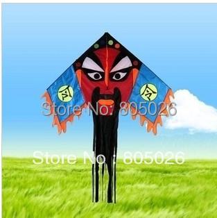 O envio gratuito de alta qualidade novo tipo de pipa chinesa pequim óperas kite 5 pçs/lote atacado pipa com linha punho chuvas frete