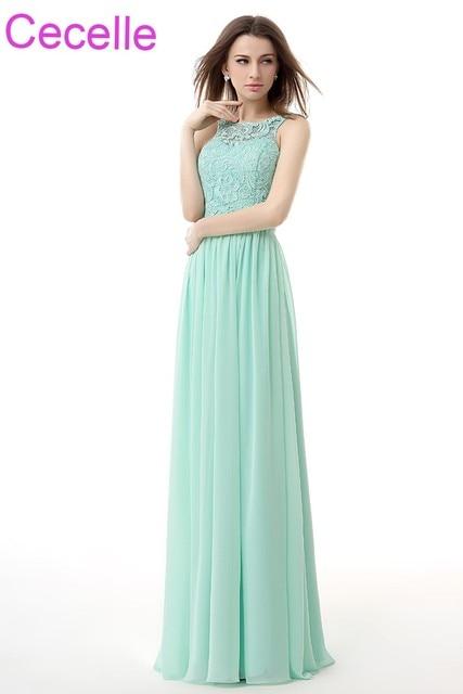 Kleid lang mint