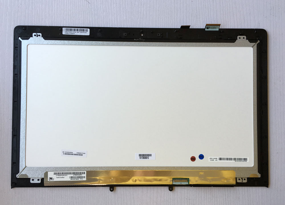 R&U test good LP156WF4(SP)(H1) lcd screen display with touch screen digitizer assembly JA-DA5357SA for ASUS N550 N550JV