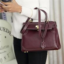 Top Brand Genuine Leather Women Handbags Female Casual Tote Bags Femme Shoulder Bags Single Ladies Crossobdy Bags Bolsa Feminina стоимость