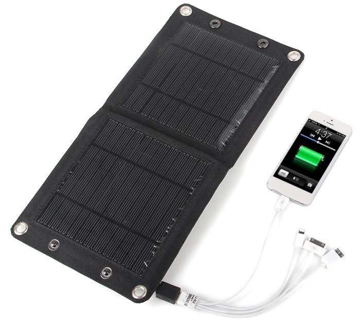 iPhone solar panel charger