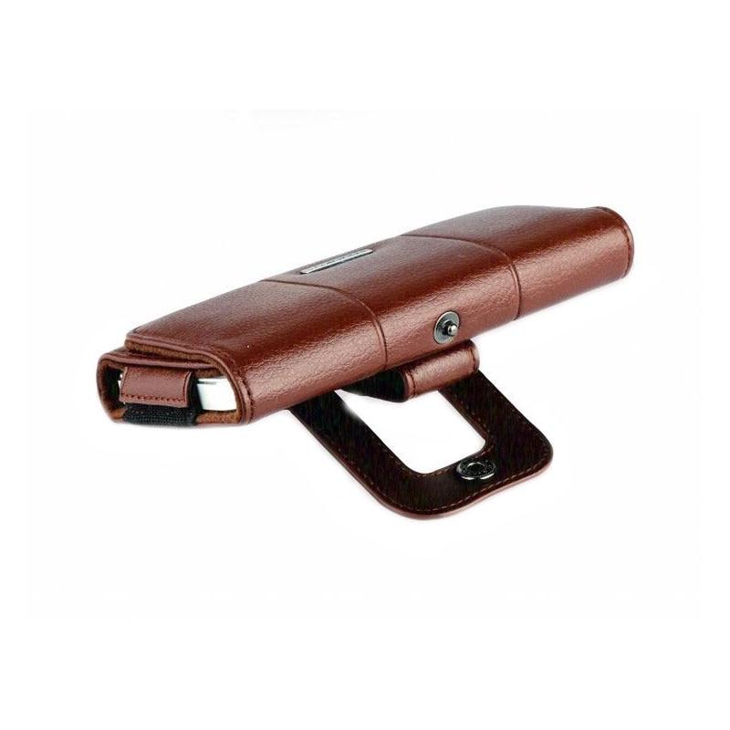 Belt Clip Holster Kulit Kasus Ponsel Kantung Untuk iPhone 7 6 6 S - Aksesori dan suku cadang ponsel - Foto 6
