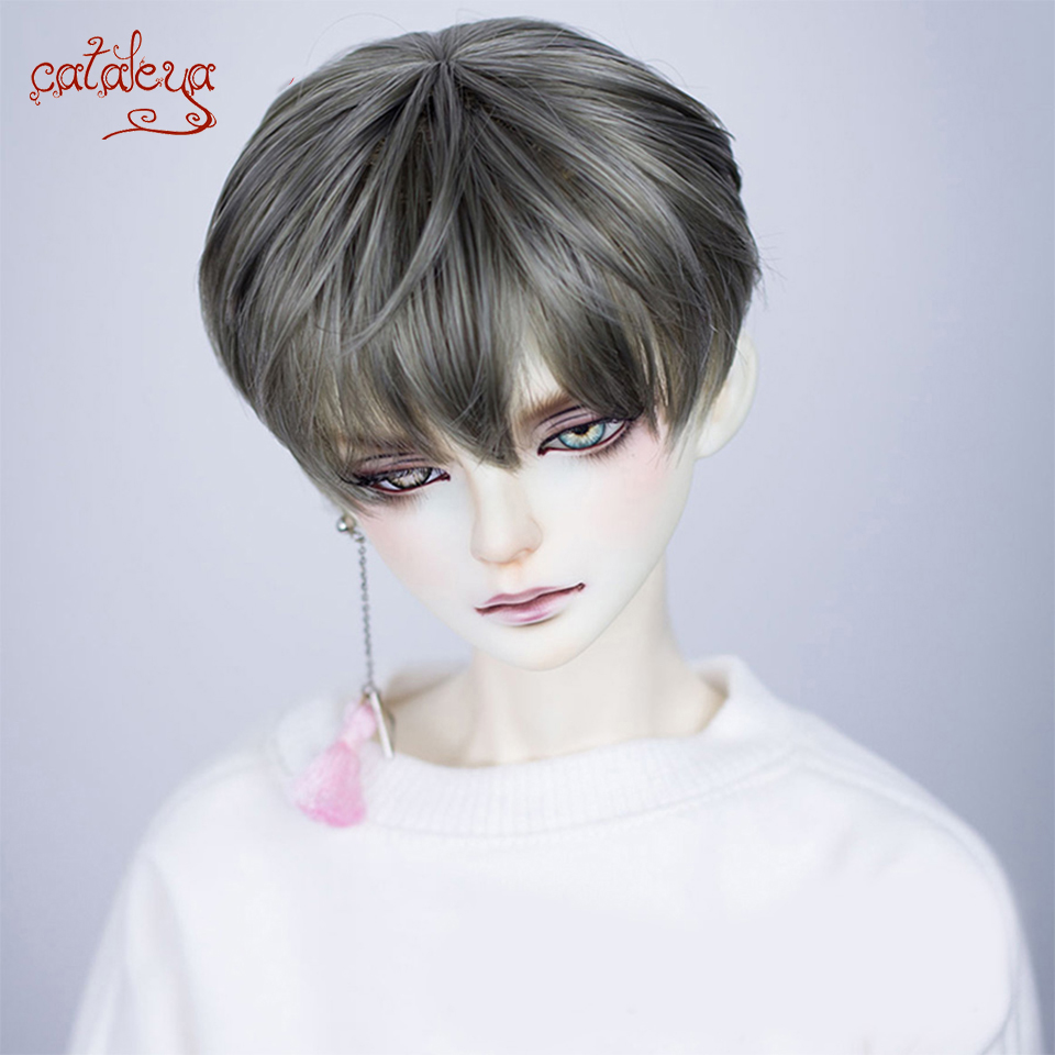 Cataleya Bjd Doll Short Boys Hair 1/3 1/4 1/6 BJD Wigs High Temperature Fiber For Dolls