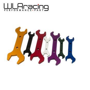 WLR RACING-UMA CHAVE De Alumínio ferramenta de Encaixe DA MANGUEIRA de alumínio Chave DOUBLE ENDED AN3-AN20 (7 pçs/set) WLR-SLW0611-SET