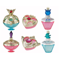 Sailor Moon Antique Jewelry Case Capsule Vol. 2 Set of 6 Gashapon Japan Anime Collectible Mascot Toys 100% Original