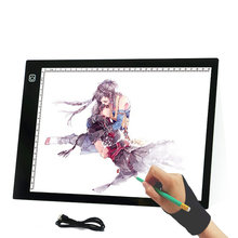 Hot Selling LED Copy Table Light Station Through USB Writing Desk A4 Copy Board Anime Board Painting Board Drawing Beauty Tools