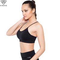 B BANG Womens Yoga Shirts Yoga Tops For Gym Jogging Running Female Top Woman Fitness Sport