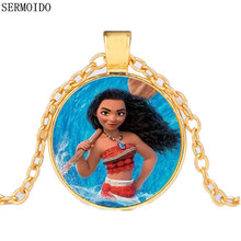 Movie Moana Necklace Key Ring Pendant Anime Figures Action & Toy Figures One Piece Action Figure Good Quality Anime Figure A3