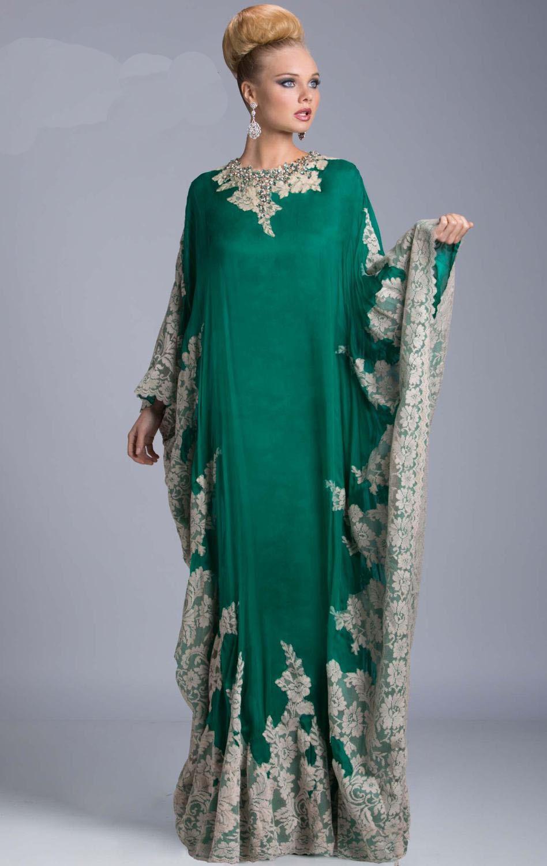 Caftan Robe Dubai Abaya Kaftan Evening Dresses 2018 Vestido De Festa Free Shipping In Evening