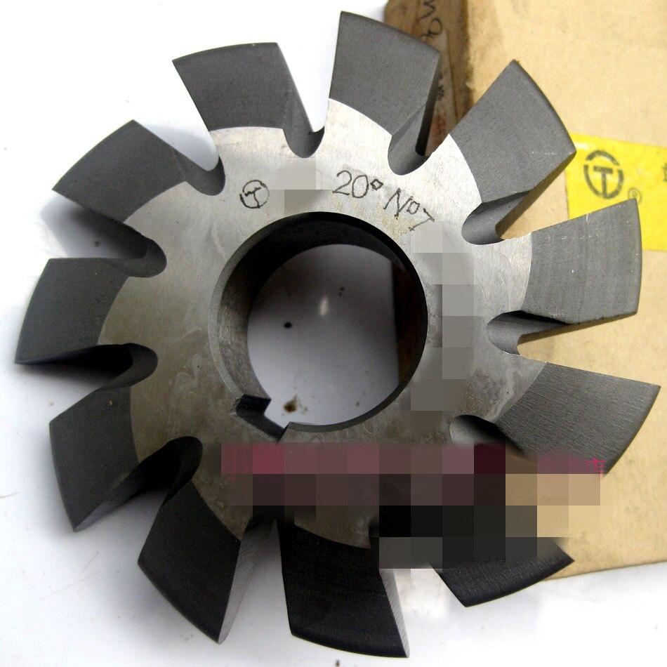 Set 8Pcs Module 10 PA20 Bore32 1#2#3#4#5#6#7#8# Involute Gear Cutters M10 2 10 8 10 1 6 50010