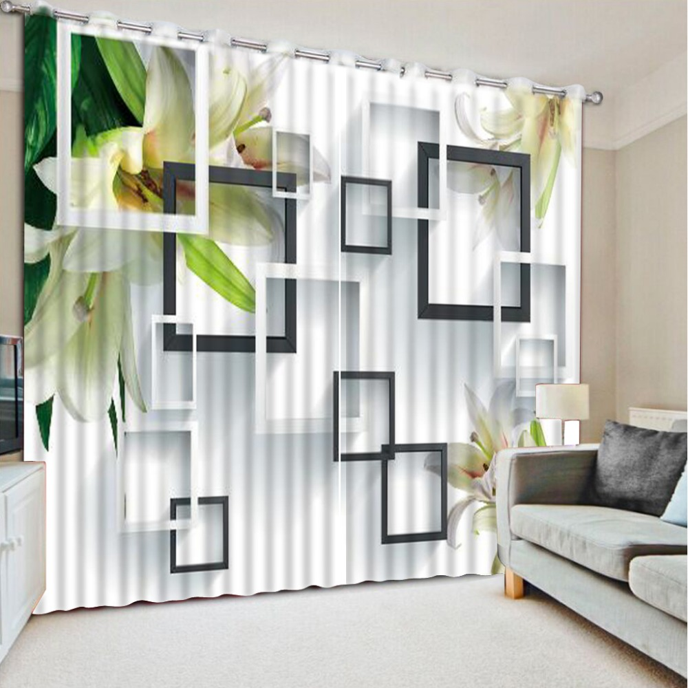 Window Curtain Living Room Online Get Cheap Window Curtain Patterns Aliexpresscom Alibaba