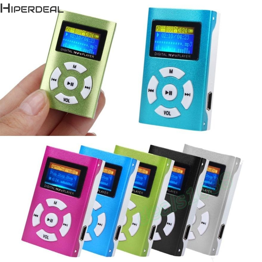 Hiperdeal USB Mini <font><b>MP3</b></font> <font><b>Player</b></font> LCD Screen Unterstützung 32GB Micro SD TF Karte Musik-<font><b>Player</b></font> 17Dec12 Drop Schiff image
