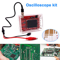 Soldered DSO138 2.4 Inch TFT Digital Oscilloscope Kit DIY Parts with Case Cover Shell WWO66