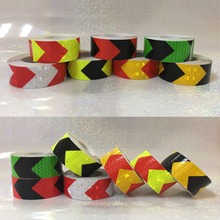 25mmX10m Car Decoration Safety Mark Motorcycle Reflective Tape Stickers Styling For Automobiles Safe Material