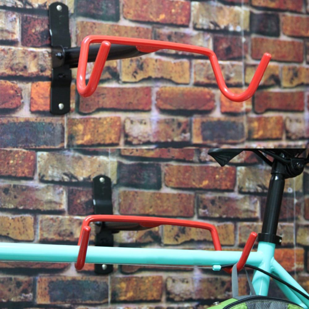 Bicycle Stand Wall Holder Mount Mountain Bike Racks Stands Steel Hook Hanger Bicycle Accessories lauxjack mountain bike steel itself 24