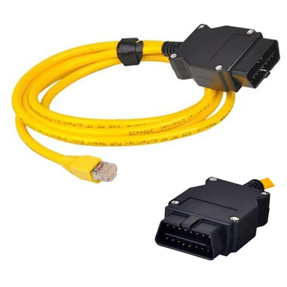 100 Pieces High Quality Esys Data Cable For Bmw Enet Ethernet To Obd Obd2 Interface E-sys Icom Coding Cable For F-series Ideal Gift For All Occasions