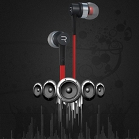 Stereo Earphone Professional In Ear Earbuds Metal Heavy Bass Sound Quality Music Headset With Mic For