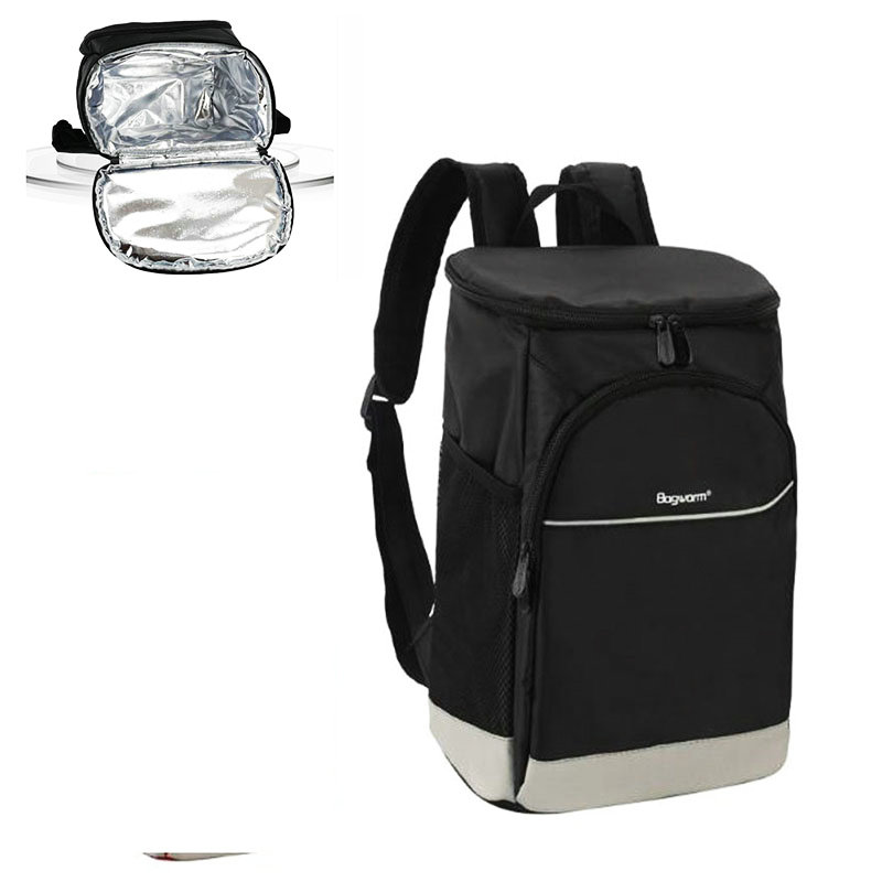 Cooler Backpack Insulated Waterproof Oxford Camping Picnic Backpack Large Wine Beer Bags For Travel Thermal Food Lunch Rucksack