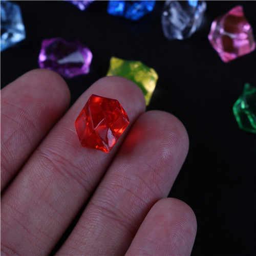 150 Pcs/Tas Manik Akrilik Kristal Batu Permata Es Batu Tabel Menebari Kerajinan Hadiah Vas Dekorasi Dekorasi Rumah Ornamen
