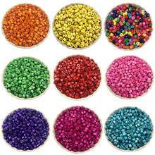 sale Necklace Bracelet Marking wood beads Jewelry 500PCS Findings Fashion making Accessories Loose Beads 5mm DIY