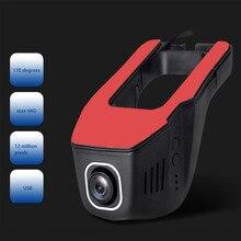 Sale New 1080P Car DVR USB Concealed Vehicle Recorder Mini Tachograph Digital Camcorder Dash Camera ADAS Function Night Version Hot