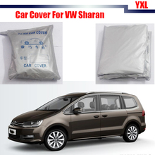 Cawanerl Full Car Cover Outdoor Anti-UV Rain Snow Sun Resistant Protection Cover Car-Cover For VW Volkswagen Sharan
