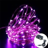 LED Dây Đèn 20 m Dây Đồng 200 Đèn Led, không thấm nước Linh Hoạt Fairy Trang Trí Đèn cho Phòng Ngủ, hiên, các bên, cưới