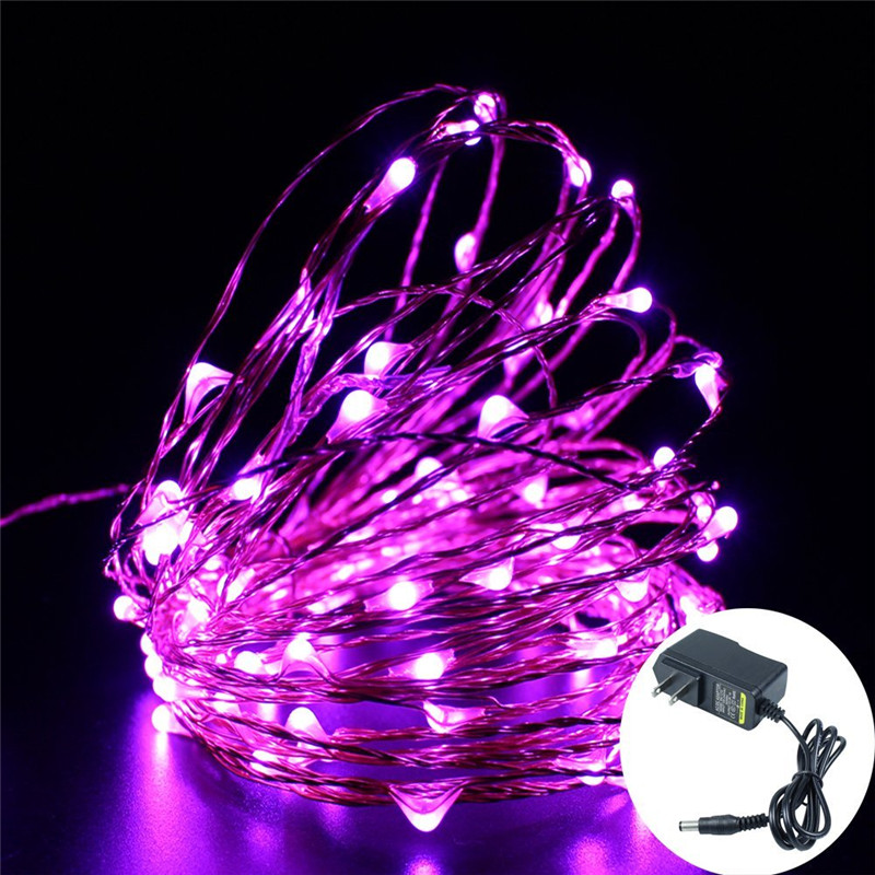 LED String Lights 20m Copper Wire 200 LEDs, Waterproof Flexible Fairy Decorative Lights for Bedroom, Patio, Parties, Wedding