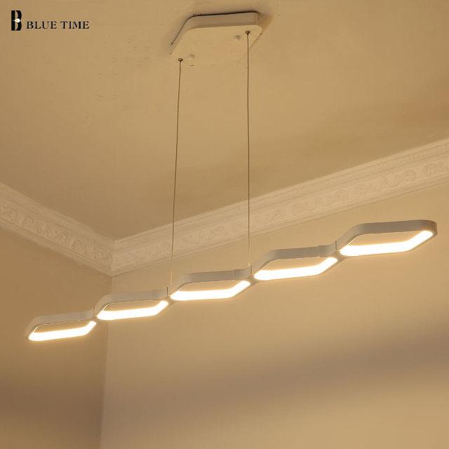 Blu Tempo NUOVO Dimmerabile Moderno LED Lampadari per la sala da ...