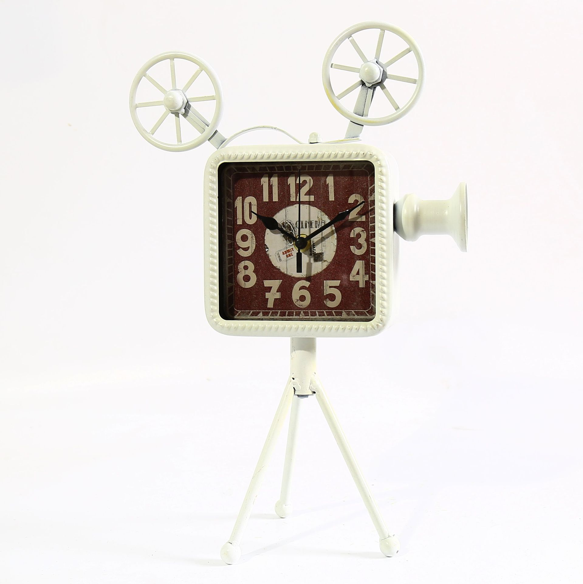 Shabby chic projector style vintage home decor bar cafe decoration shabby chic projector style vintage home decor bar cafe decoration antique clock table clock in floor clocks from home garden on aliexpress alibaba amipublicfo Images