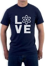I Love Science – Gift for Scientist Genius T-Shirt Geeky Casual Short Sleeve Shirt Tee