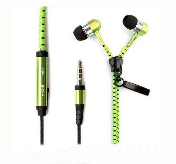 zipper earphone G
