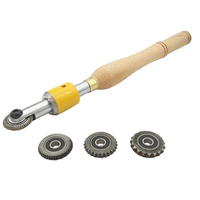 DANIU Texture Wood Turning Tool Thread Sprail Wood Turning Tool Texturing and Spiralling System Woodworking Tools