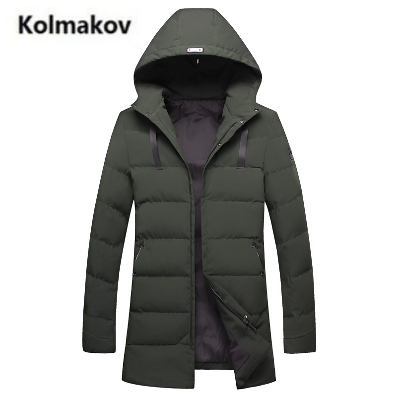 KOLMAKOV 2017 winter new arrival high quality fashion Men's cotton-padded jacket coats,hooded Thick warm parkas coat men,S-4XL. original hot mum baby strollers 2 in 1 bb car folding light baby carriage six free gifts send rain cover