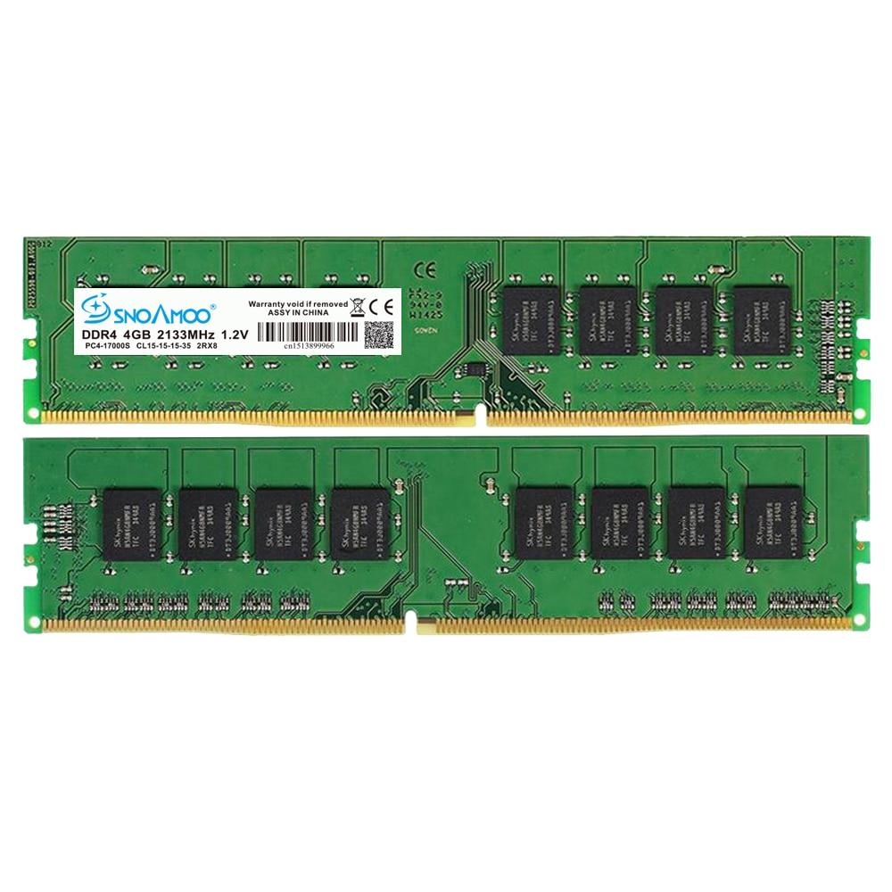 SNOAMOO Nouveau Bureau PC DDR4 8 GB 2133-2400 MHz CL15 PC4-17000S 1.2 V 2Rx8 288-Pin DIMM Pour Intel ordinateur Béliers Garantie À Vie - 5