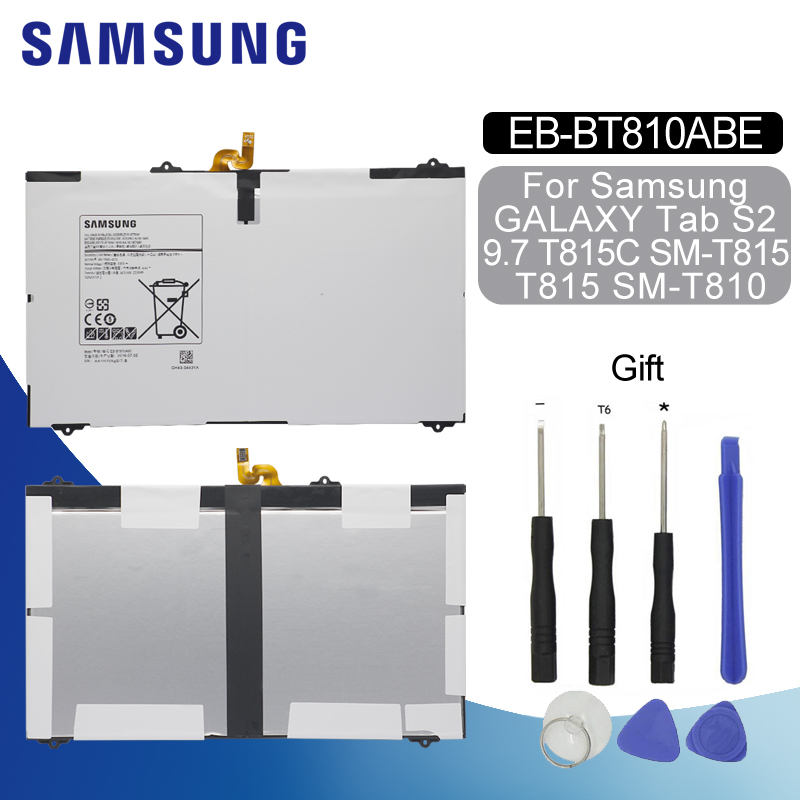 US NEW Battery EB-BT810ABE For Samsung Galaxy Tab S2 9.7 LTE-A SM-T810 SM-T815