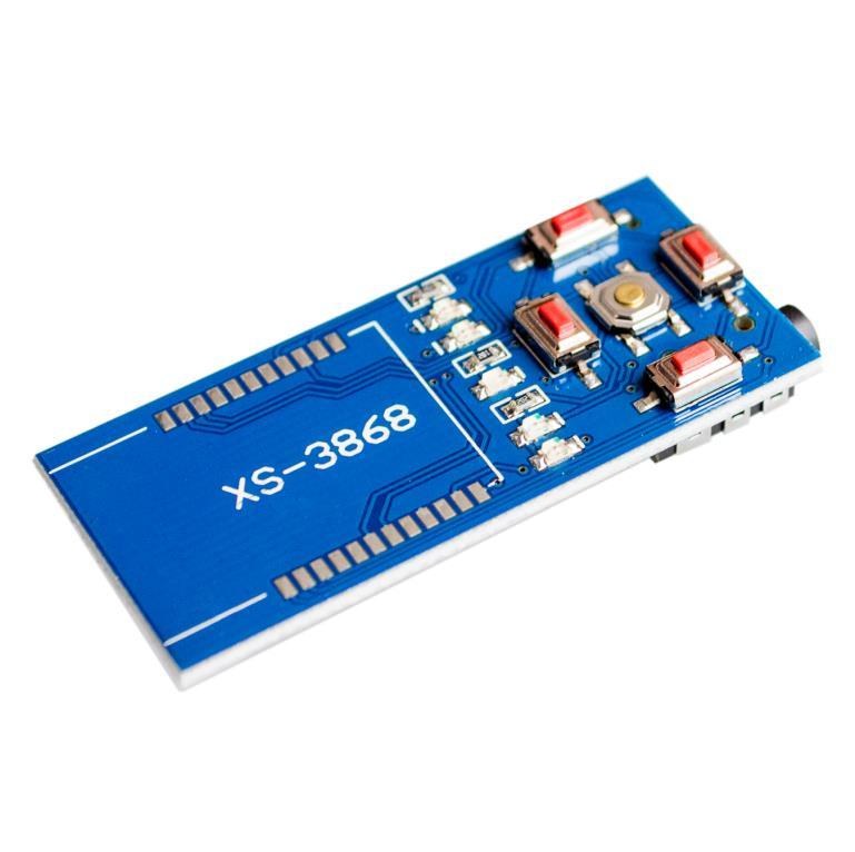 Free shipping OVC3860 backplane adapter plate master chip <font><b>Bluetooth</b></font> stereo audio Shield <font><b>module</b></font> <font><b>XS3868</b></font>