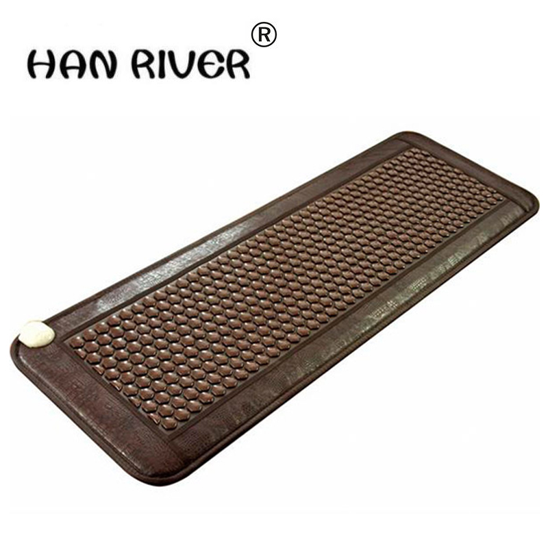 2017 Most Popular Natural Heating Tourmaline Mat Thermal Massage heat Cushion Massage Mattress Health Care 50*150CM