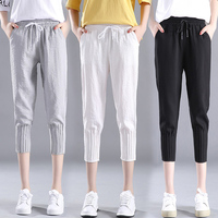 2019 new women pants casual low waist flare wide leg long pants palazzo trousers skull printed pajama pants at home