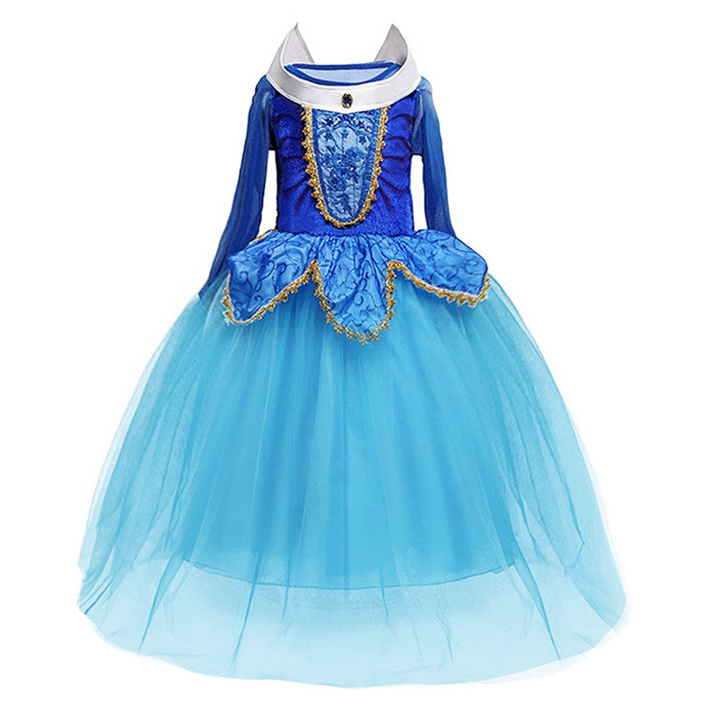 2019 Cinderella Girls Elsa Dress Costumes for Kids Cosplay Dresses Princess Anna Dress Children Party Dresses Fantasia Vestidos