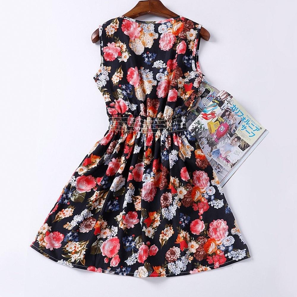 HTB1.9b5HFXXXXbvXFXXq6xXFXXXq - Summer Women Dress Vestidos Print Casual Low Price
