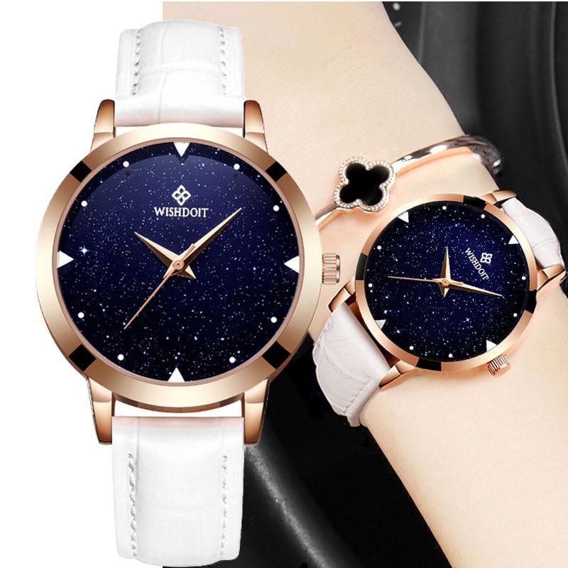 2018 Women Watch Luxury Bracelets Quartz Watches Fashion Womens Wristwatches Clocks Waterproof Relogio Feminino Relojes mujer