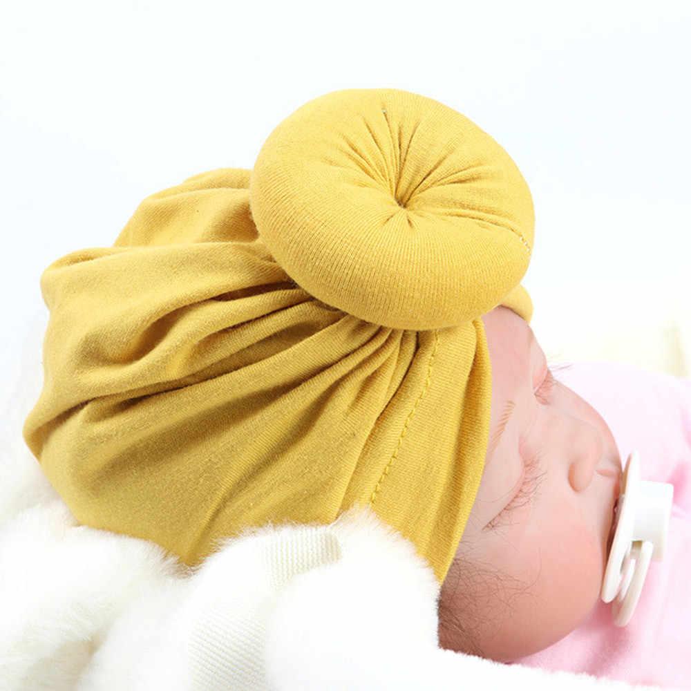 Bé Turban Toddler Trẻ Em Trai Cô Gái Ấn Độ Hat Đáng Yêu Mềm Hat opaski dla dziewczynek Đáng Yêu Mềm Hat Mũ Bé Sơ Sinh mũ mới