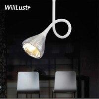Flexible tuyau plafond lampe accent lumière moderne éclairage chambre à manger salon toggery couture vêtements boutique restaurant