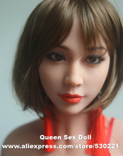 2016 NEW Top quality real sexy font b dolls b font silicone head for real size