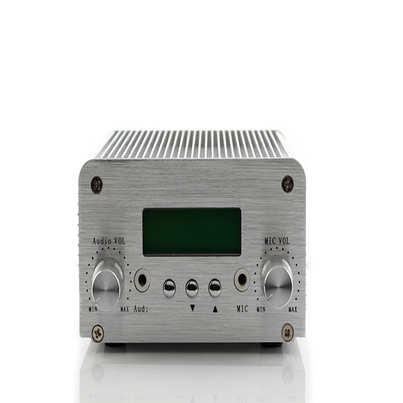 2017 New Product Manufactory Price Free Shipping PC Control 1W/6W NIO-T6B fm pll Transmitter for Mini Power Radio Broadcasting free shipping wireless bluetooth nio t6b 1w 6w radio fm 6w power transmitter